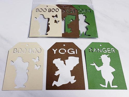 Yogi Deluxe Word Tags