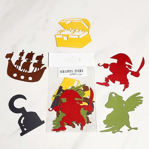 Pirate Die Cut Silhouette Mini Set