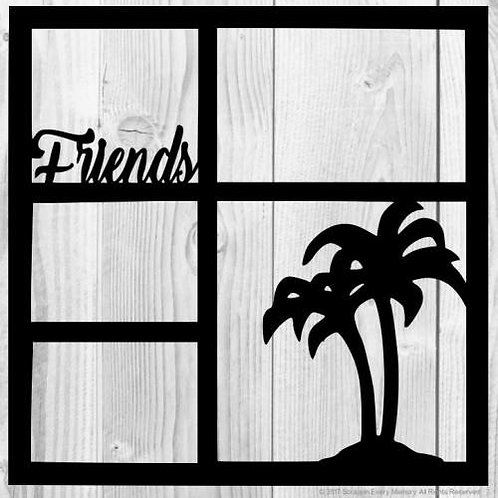 Friends Scrapbook Overlay