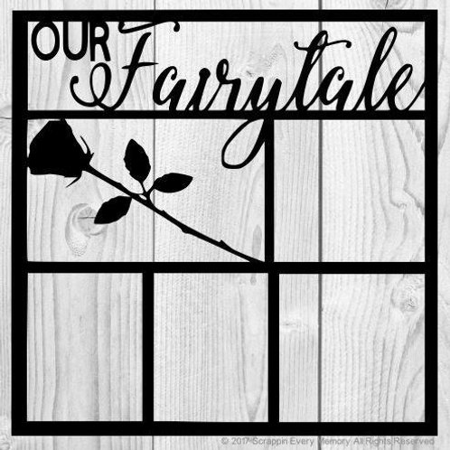 Our Fairytale Scrapbook Overlay