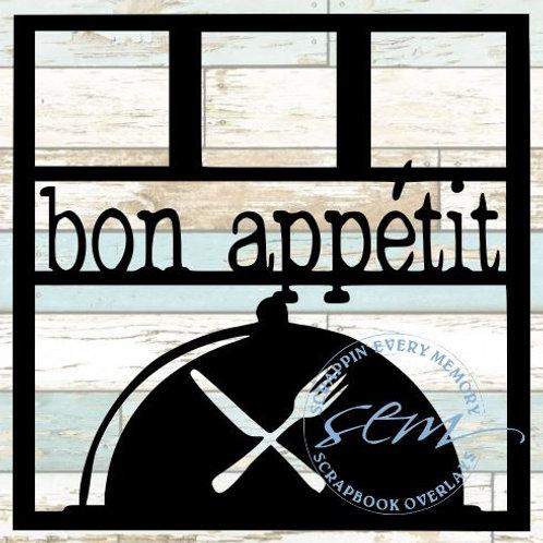 Bon Appetit Scrapbook Overlay