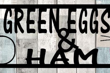 Green Eggs & Ham Scrapbook Title