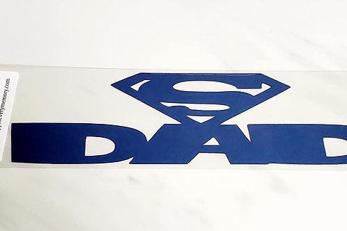 Super Dad Scrapbook Deluxe Die Cut