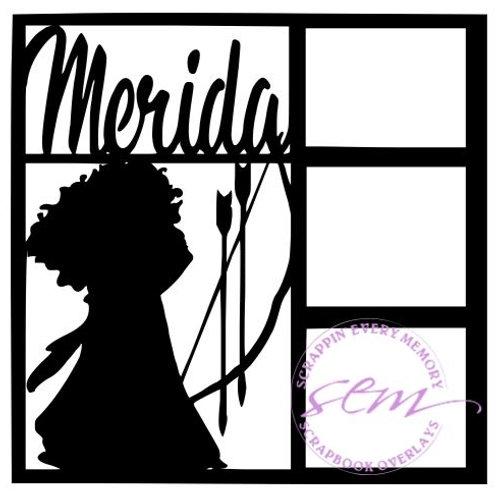 Merida Scrapbook Overlay