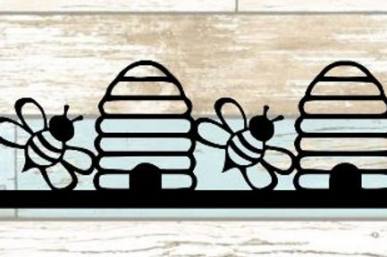 Bees & Hives Scrapbook Border