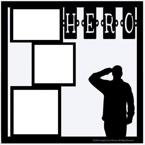 Hero Scrapbook Overlay