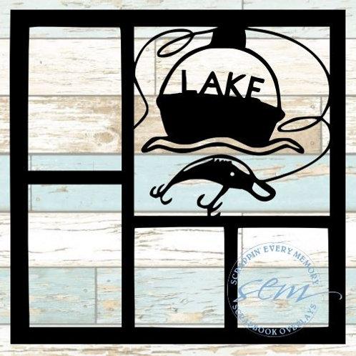 Lake Scrapbook Overlay