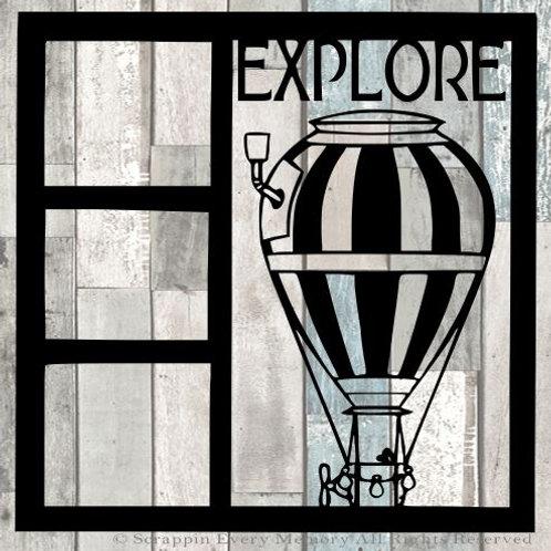 Explore Scrapbook Overlay