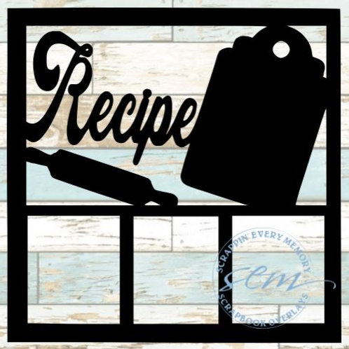 Recipe Scrapbook Overlay
