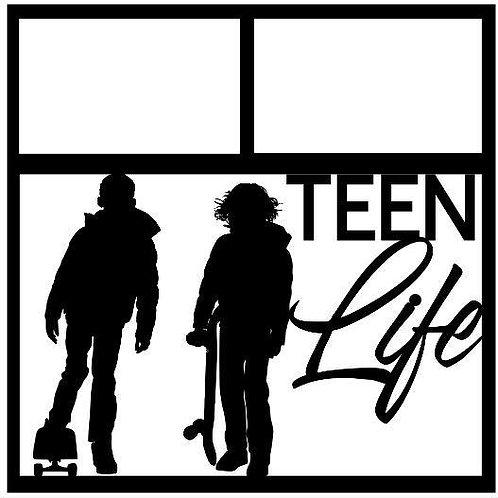 Teen Life Scrapbook Overlay