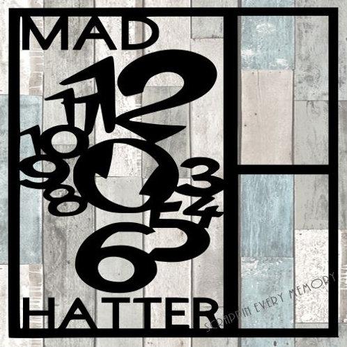Mad Hatter Scrapbook Overlay