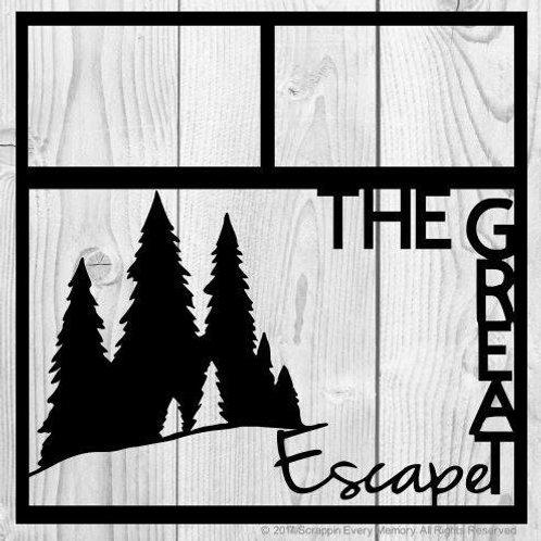 The Great Escape Scrapbook Overlay
