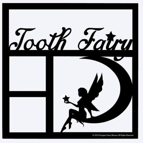 Tooth Fairy Scrapbook Overlay