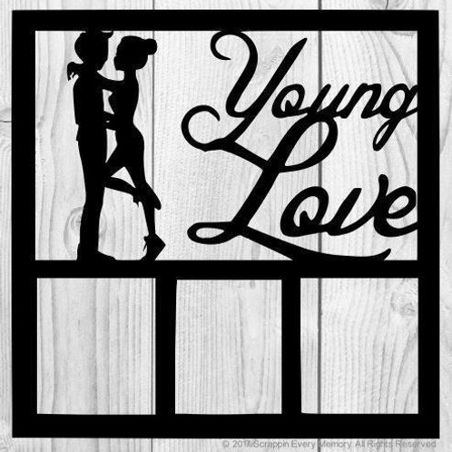 Young Love Scrapbook Overlay