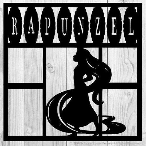 Rapunzel Scrapbook Overlay