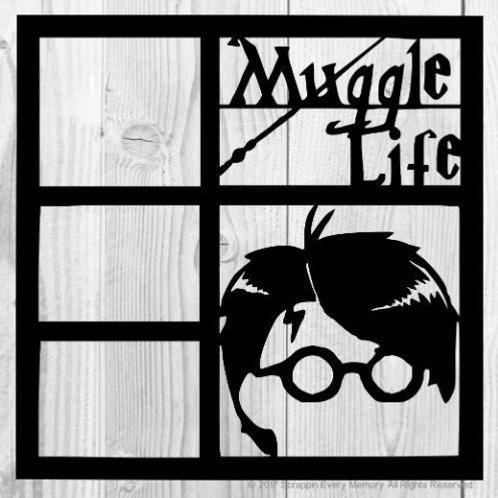 Muggle Life Scrapbook Overlay