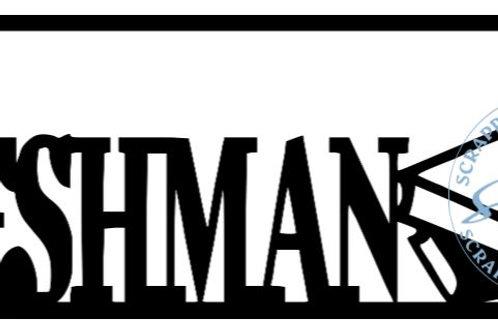Freshman Scrapbook Title