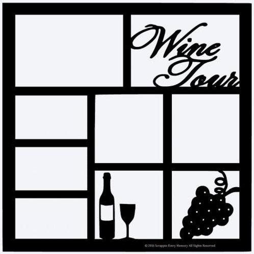 Wine Tour Scrapbook Overlay