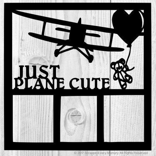 Just Plane Cute Scrapbook Overlay