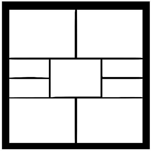 Frame 216 Scrapbook Overlay