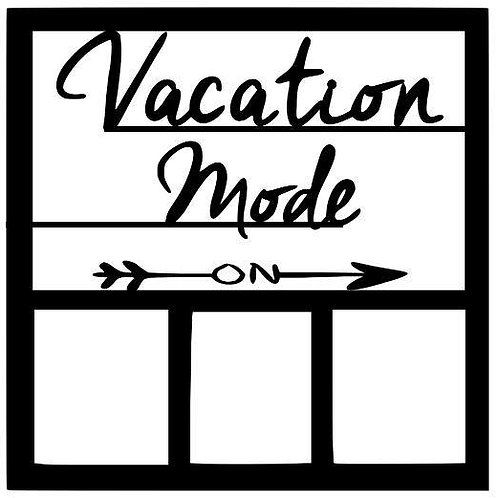 Vacation Mode Scrapbook Overlay