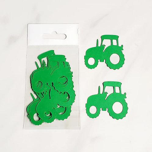Tractor Itsy Bitsy Embellishments
