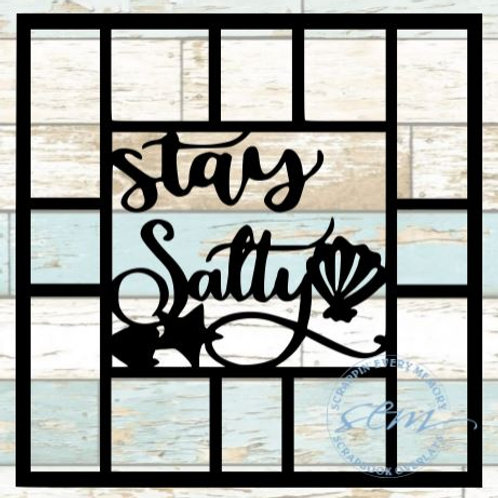 Stay Salty Scrapbook Overlay