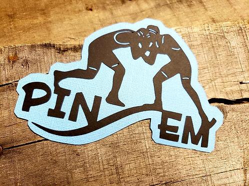 Pin Em' Paper Piecing Die Cut