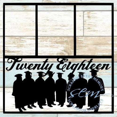 Twenty Eighteen Scrapbook Overlay