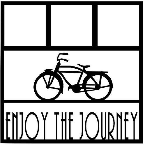 Enjoy The Journey Scrapbook Overlay