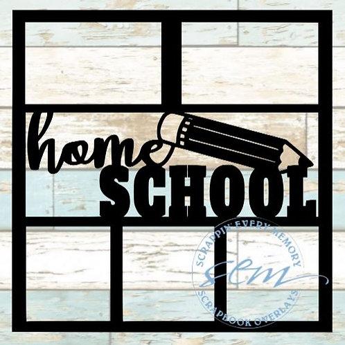 Home School Scrapbook Overlay