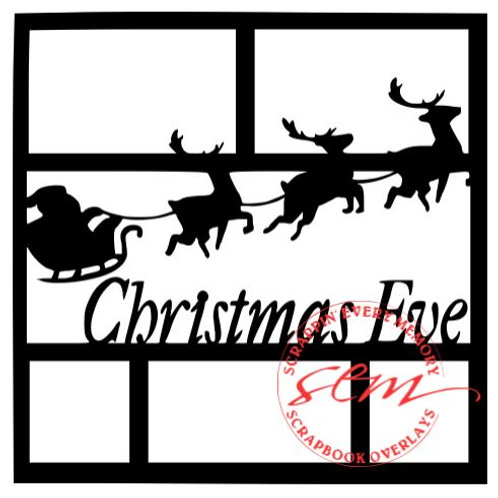 Christmas Eve Scrapbook Overlay