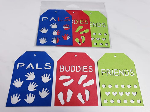Friends Deluxe Word Tags