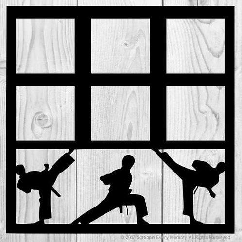 Karate Scrapbook Overlay