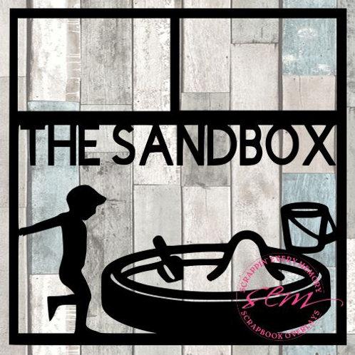 The Sandbox Scrapbook Overlay