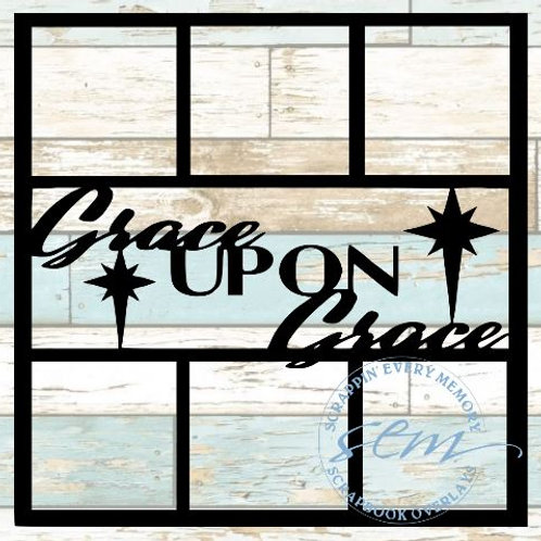 Grace Upon Grace Scrapbook Overlay