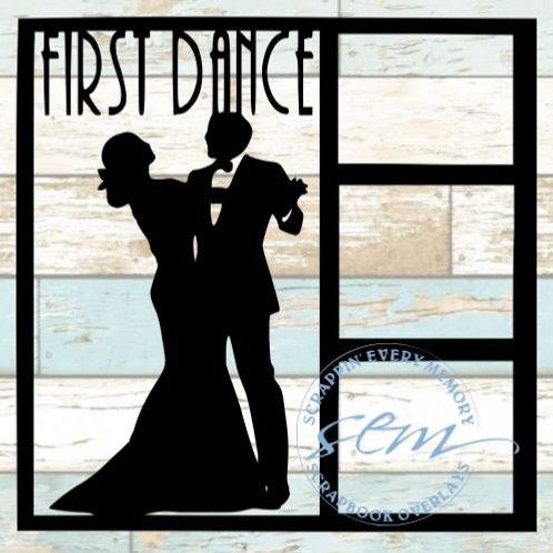 First Dance Scrapbook Overlay