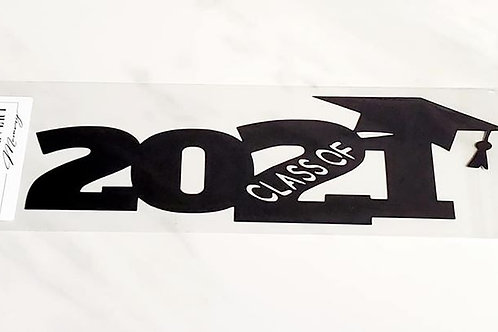 Class Of 2021 Scrapbook Deluxe Die Cut