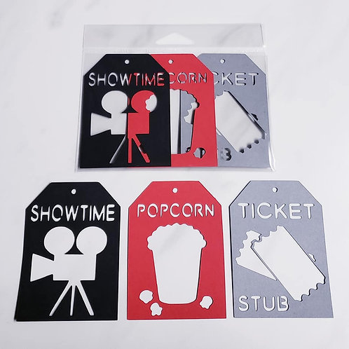 Movies Deluxe Word Tags