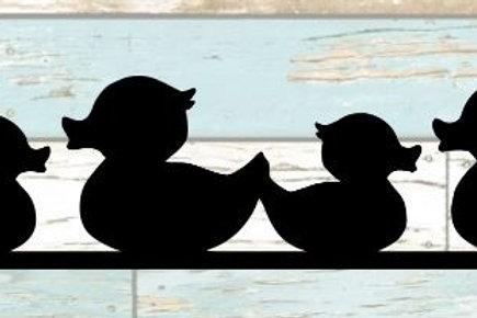 Rubber Ducks Scrapbook Border
