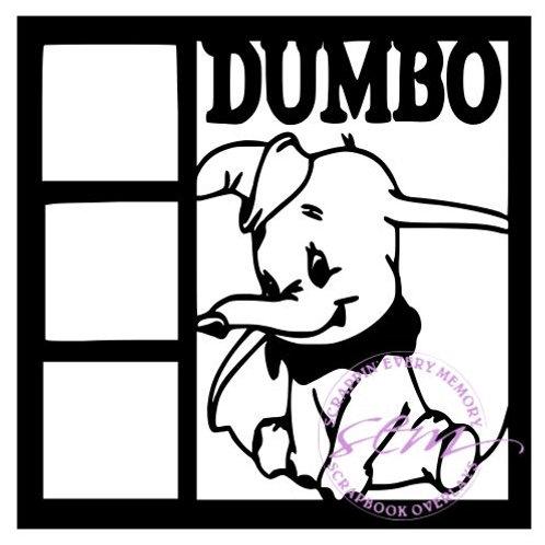 Dumbo Scrapbook Overlay