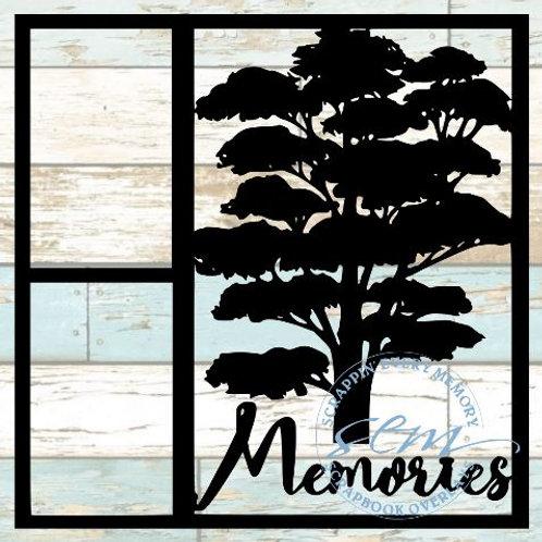 Memories Scrapbook Overlay