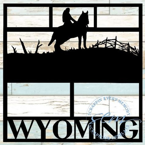 Wyoming Scrapbook Overlay