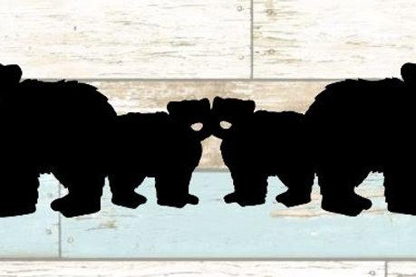 Bears Scrapbook Border