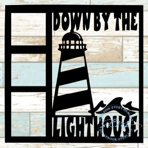 Down By The Lighthouse Scrapbook Overlay