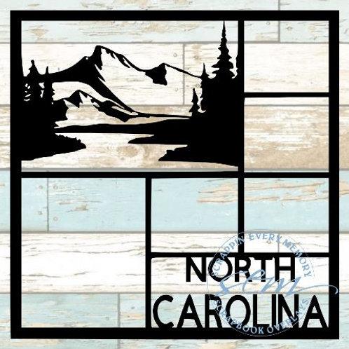 North Carolina Scrapbook Overlay
