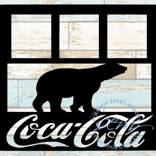Coca Cola Scrapbook Overlay