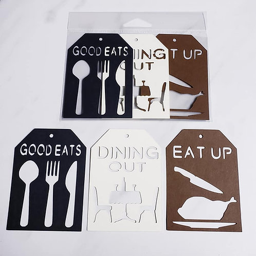 Dining Deluxe Word Tags