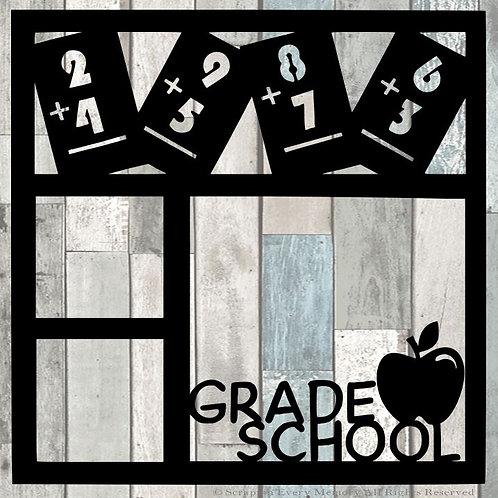 Grade School Scrapbook Overlay