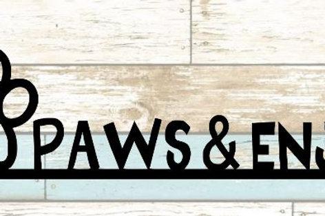 Paws & Enjoy Scrapbook Border